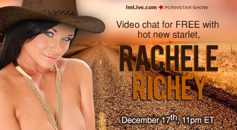 Free Porn Star Webcam Show With Rachelle Richey